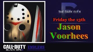 getlinkyoutube.com-Black Ops 2 Emblem - Jason Voorhees ( Friday the 13th )