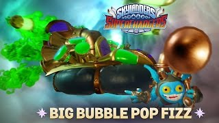 getlinkyoutube.com-Skylanders SuperChargers: Big Bubble Pop Fizz & Soda Skimmer [Gameplay]