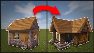 getlinkyoutube.com-Minecraft: How To Remodel A Village Library