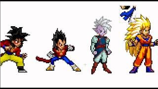 getlinkyoutube.com-How To Create Your Own DBZ Character (Sprite)