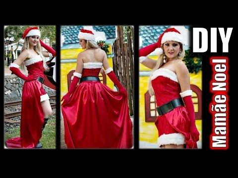 DIY - Roupa de Mamae Noel