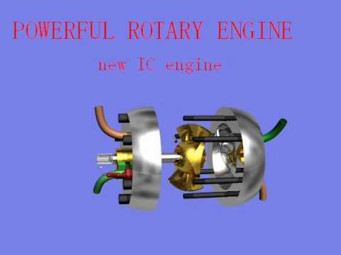 rotary engine--new powerful IC engine