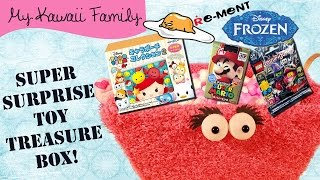 getlinkyoutube.com-Super Surprise TOY Treasure Box Ep 11! Tsum Tsum, Lego Monsters, Gudetama, Mario Egg, Frozen