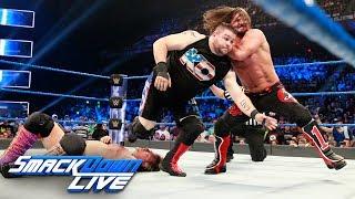 Kevin Owens vs. AJ Styles vs. Chris Jericho — U.S. Title Match: SmackDown LIVE, July 25, 2017 width=