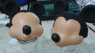 getlinkyoutube.com-Como fazer o Mickey esculpido em eva 3d parte I By Vivian Balaban