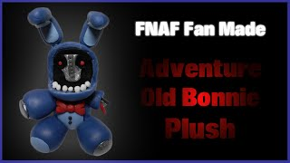 getlinkyoutube.com-FNaF Fan Made | Adventure Old Bonnie Plush Polymer Clay Tutorial | Porcelana Fría ★ Plastilina