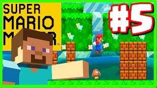 getlinkyoutube.com-MINECRAFT IN MARIO! - Super Mario Maker - Super Mario Maker Gameplay Walkthrough Part 5
