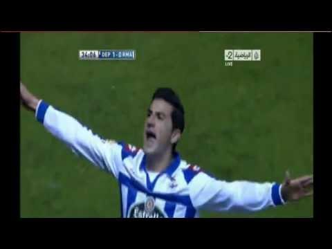 هدف ديبورتيفو لاكورونا على ريال مدريد 1-0 [2013/2/23]