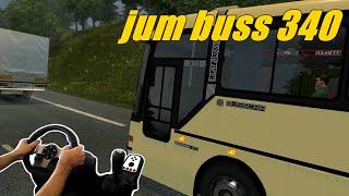 getlinkyoutube.com-EURO TRUCK SIMULATOR 2 - MOD  EAA BUS, VIAGEM COM O JUM BUSS 340, VOLANTE G27!!!