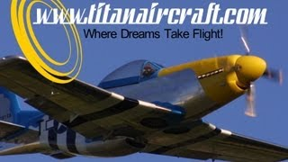 getlinkyoutube.com-Titan Aircraft, Titan T51, Titan Tornado, Titan Tornado II experimental light sport aircraft.
