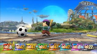 getlinkyoutube.com-Super Smash Bros. for Wii U glitch - Controlling 8 players with 1 controller