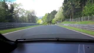 Lamborghini Murciélago laps The Nürburgring