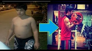 getlinkyoutube.com-Yiğit Özel - 16 years old bodybuilder- Body Transformation