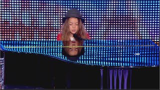 getlinkyoutube.com-Erza, 8 years old, sings 'Papaoutai' by Stromae - France's Got Talent 2014 audition - Week 2
