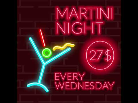 Martini Night at Redstreet Boom