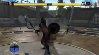 Sports Champions: Vivian Lockhart vs Titus Maximus! (Gladiator Duel)