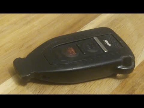 Lexus LS430 Key Fob Battery Replacement - EASY DIY