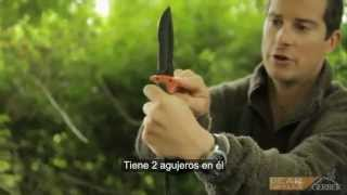 getlinkyoutube.com-Cuchillos de supervivencia: Gerber Bear Grylls 2013