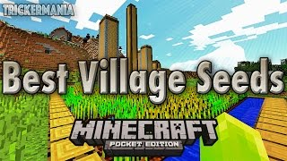 getlinkyoutube.com-Minecraft PE 0.16.0 | BEST VILLAGE SEEDS OF ALL TIME