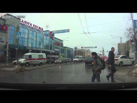Очень вежливый калужский пешеход
