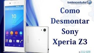 getlinkyoutube.com-Como Trocar o LCD / Display e Touch Screen Sony Xperia Z3 -Telecelula