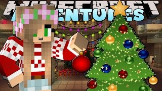 getlinkyoutube.com-Minecraft-Little Kelly Adventures-DECORATING OUR CHRISTMAS TREE!