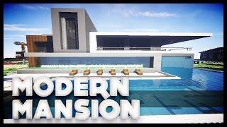 getlinkyoutube.com-Minecraft - Modern Mansion