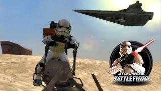 getlinkyoutube.com-Star Wars Battlefront 1 Mods (PC) HD: Tatooine: Jundland Wastes | Galactic Civil War