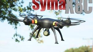 getlinkyoutube.com-Syma X8C Venture Drone Quadcopter w/ Camera