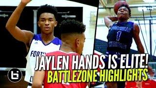 getlinkyoutube.com-Jaylen Hands Shows Why He's An ALL AMERICAN! Battlezone FULL Highlights!