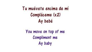 Shakira - Trap Lyrics English and Spanish - Translation width=