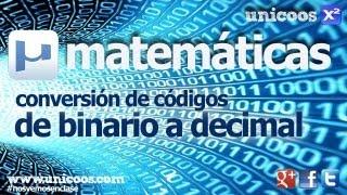 Imagen en miniatura para De binario a decimal
