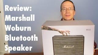 Review: Marshall Woburn Bluetooth Speaker