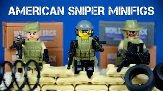 getlinkyoutube.com-Brick Warfare: The American Sniper/Anti-Terrorism LEGO KnockOff Minifigures Special Forces