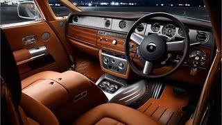 getlinkyoutube.com-Car Interior Design: Rolls-Royce Leathershop