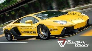 getlinkyoutube.com-Premiere Works: Liberty Walk Lamborghini Aventador at HIN 2014 (Jakarta, Indonesia)