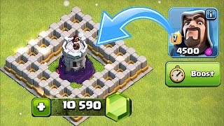 getlinkyoutube.com-LVL 10 WIZ TOWER GEM TO MAX SPREE!! 🔸Clash of clans New update Pt. 3🔸