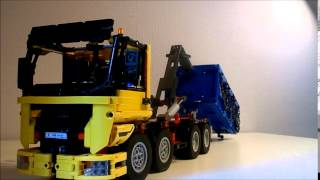 getlinkyoutube.com-Lego Technic Ampliroll truck