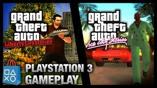 getlinkyoutube.com-GTA Liberty City Stories & Vice City Stories - PlayStation 3 Gameplay (PSN)