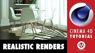getlinkyoutube.com-Cinema 4D Tutorial: Learn The Secrets of Realistic Renders in 6 minutes