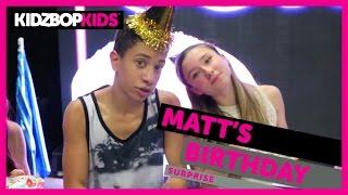 getlinkyoutube.com-KIDZ BOP Kids - Matt's Birthday Surprise