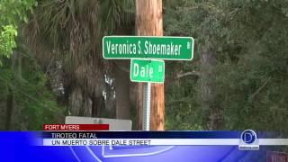 Tiroteo fatal un muerto sobre Dale Street