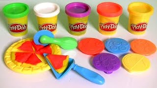 getlinkyoutube.com-Play-Doh Lunchtime Creations Playset Sweet Shoppe Pizza Sandwiches Cookies by Funtoys