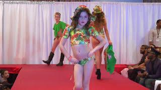getlinkyoutube.com-Children's Swimwear Fashion Show