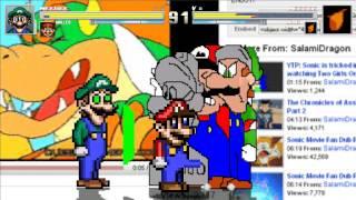 getlinkyoutube.com-Mugen: Weegee & Malleo vs Toon Weegee & Toon Malleo