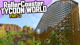 getlinkyoutube.com-RollerCoaster Tycoon World | Part 3 (Early Access)