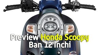 Preview Honda Scoopy Ban 12 Inchi
