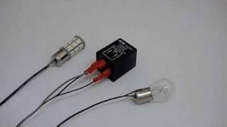 getlinkyoutube.com-Electronic Turn Signal Blinker Flasher Relay