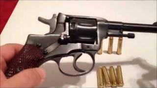getlinkyoutube.com-Револьвер Наган M1895. Обзор и Стрельба