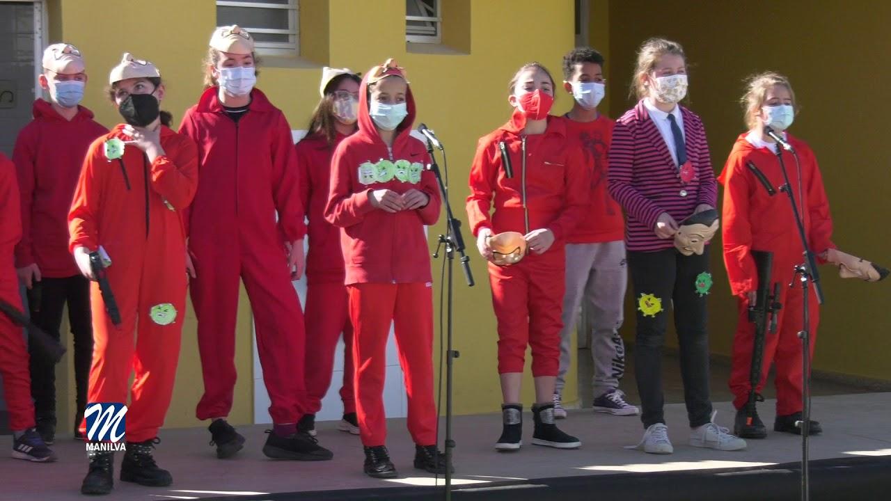 Carnavales en los colegios